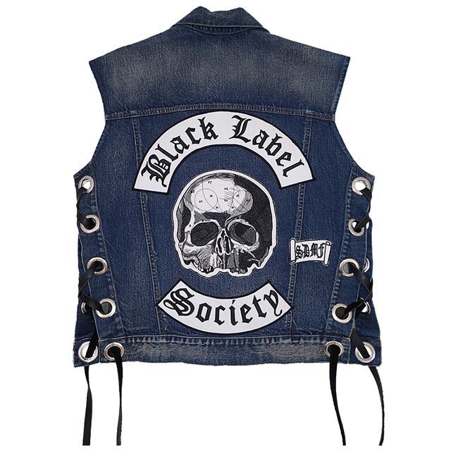 Black Label Society Official Deluxe Denim Vest
