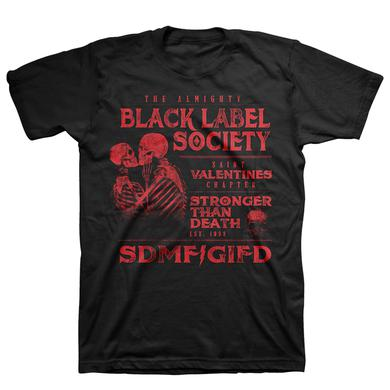 Black Label Society St. Valentine's Day Tee