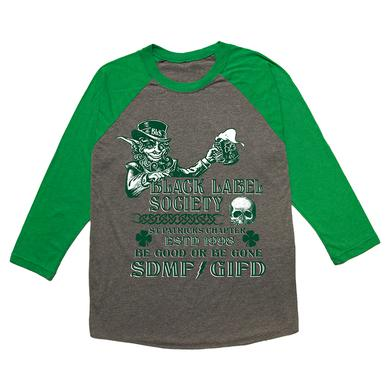 Black Label Society St. Patrick's Chapter Raglan
