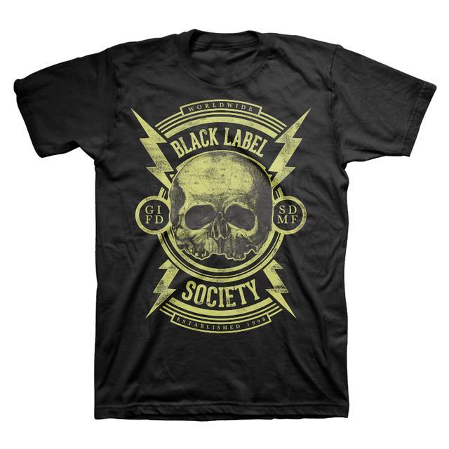 Black Label Society Bolts Tee