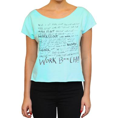 Britney Spears Work It Out Dolman Tee