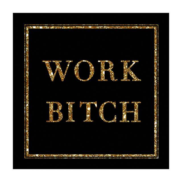Britney Spears Work Bitch Black Magnet