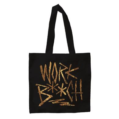 Britney Spears Work B**ch Scratched Tote Bag