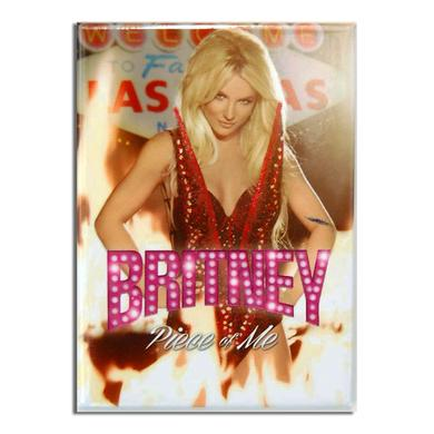 Britney Spears Piece Of Me Magnet