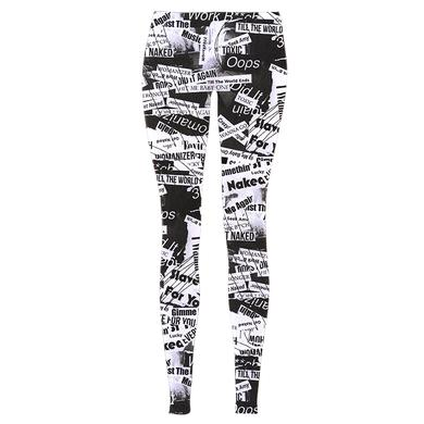 Britney Spears Lyric Tabloid Leggings
