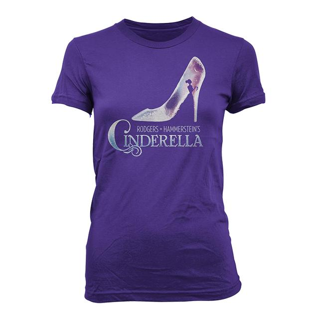 Cinderella Womens Fitted Logo Tee
