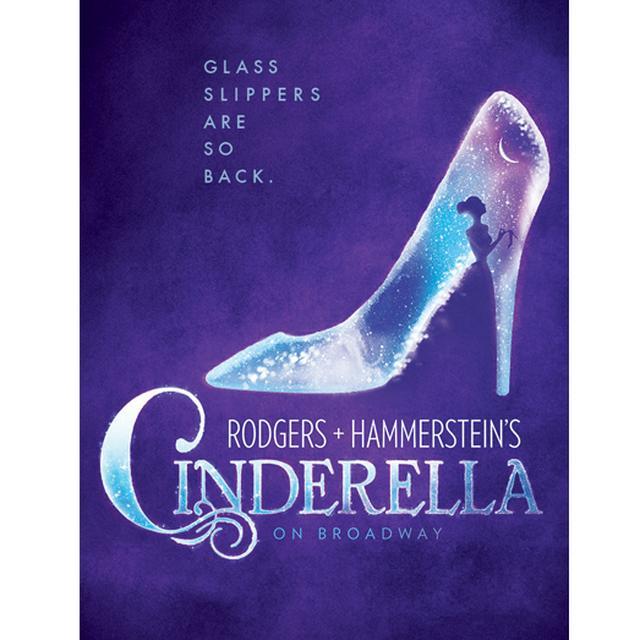 Cinderella Logo Magnet