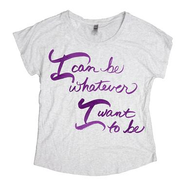 Cinderella Womens I Can Be Dolman Tee