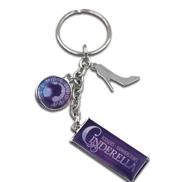 Cinderella Charm Keychain