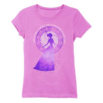 Cinderella Youth Clock Impossible Tee