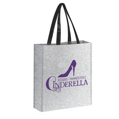 Cinderella Glitter Tote Bag