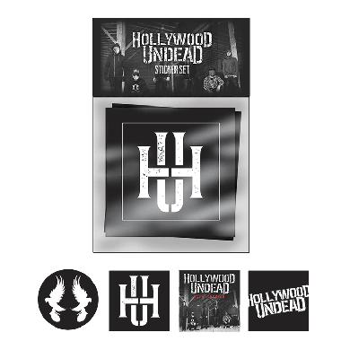 Hollywood Undead DOTD Sticker Set