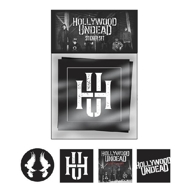 Hollywood Undead DOTD Sticker Set