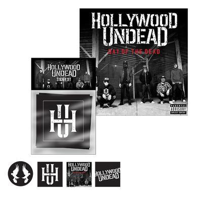 Hollywood Undead DOTD Sticker Bundle