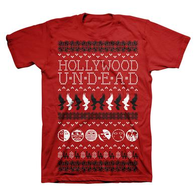 Hollywood Undead HU Ugly Holiday Tee