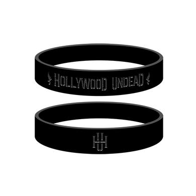 Hollywood Undead HU Logo Wristband