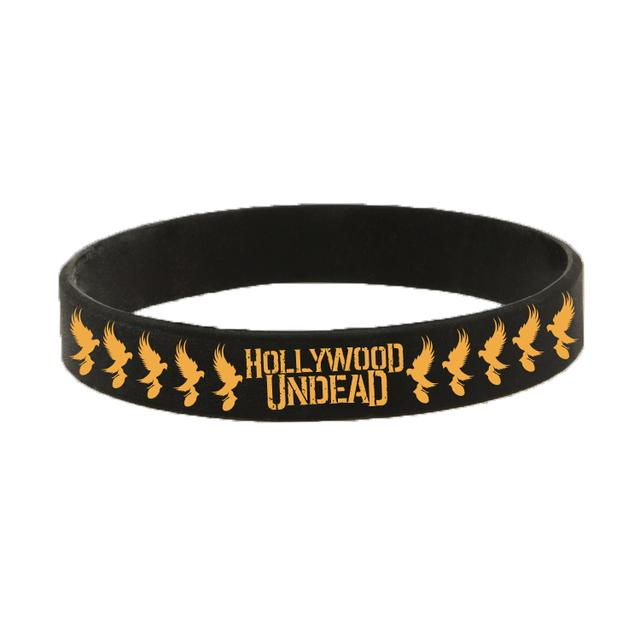 Hollywood Undead Dove Grenade Rubber Bracelet