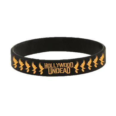 Hollywood Undead Dove Grenade Rubber Bracelet
