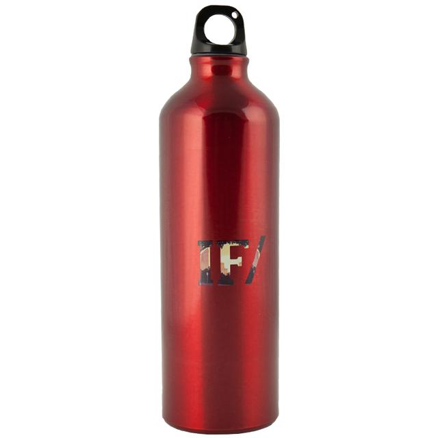 If/Then Split Text Red Waterbottle