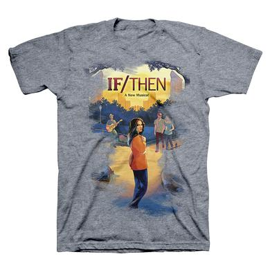 If/Then Washed Denim Logo Tee