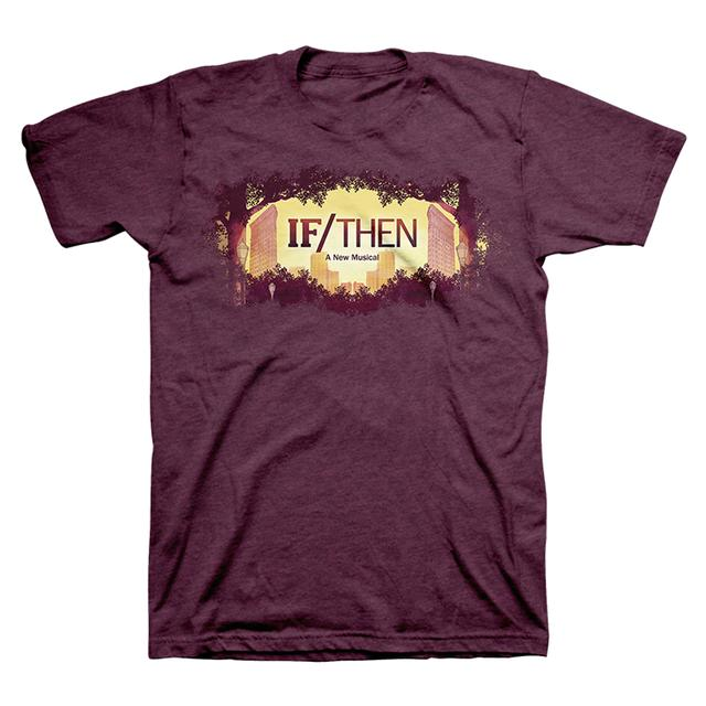 If/Then If Then Rose Logo Tee