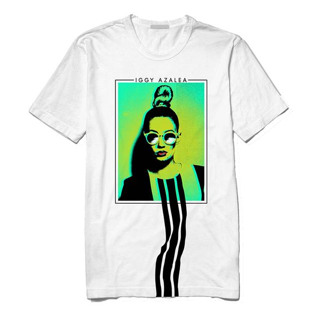 Iggy Azalea T Shirt | Pop Art Bun