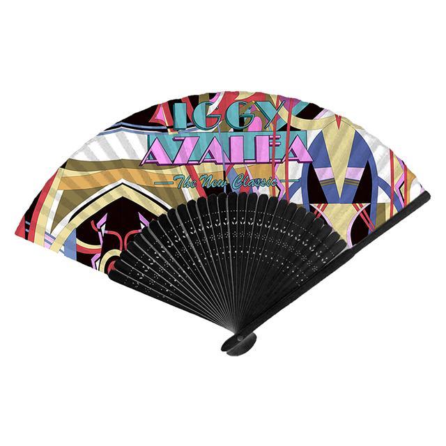 Iggy Azalea Logo Cloth Fan