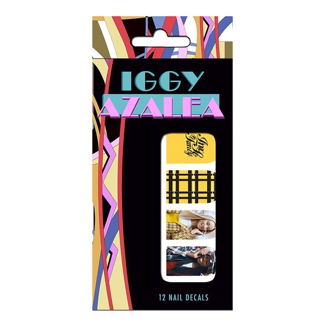 Iggy Azalea Custom Nail Stickers
