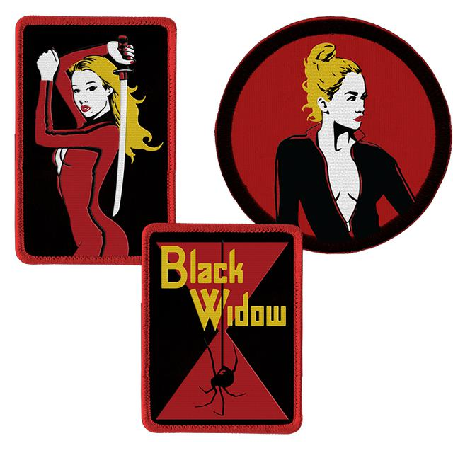 Iggy Azalea Black Widow Patch Set
