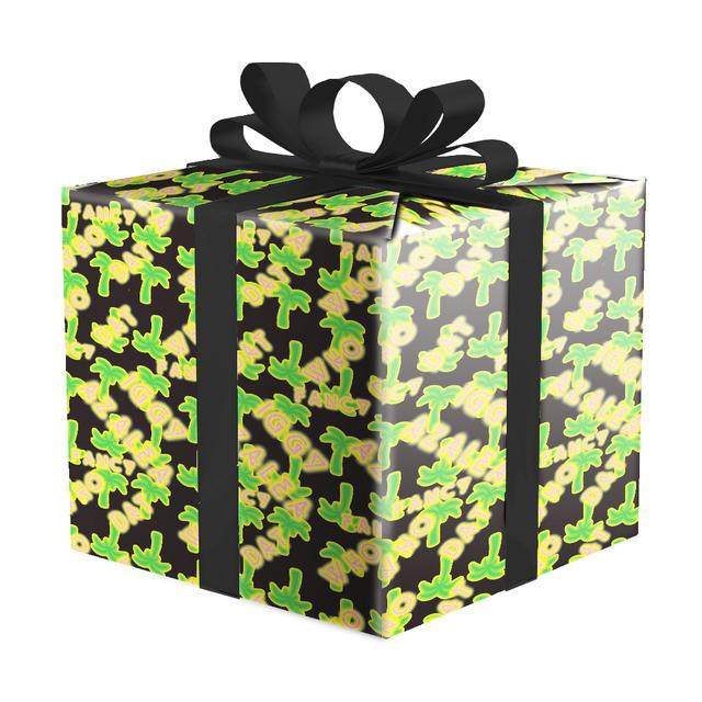 Iggy Azalea Palm Tree Wrapping Paper