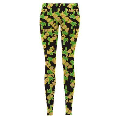 Iggy Azalea Palm Tree Leggings
