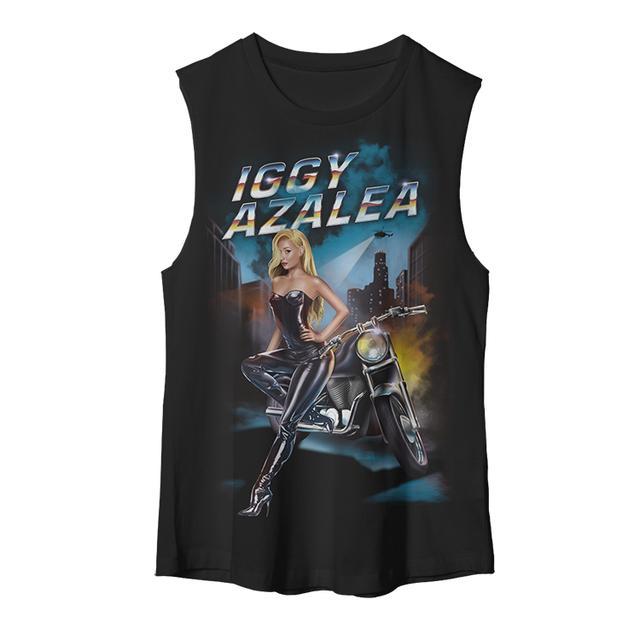 Iggy Azalea Women's Moto Muscle Tank