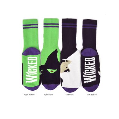 Ink And Vector Witch Socks