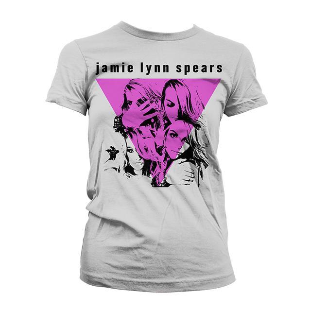 Jamie Lynn Spears Triangle Faces Tee