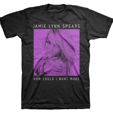 Jamie Lynn Spears Want More Square Tee