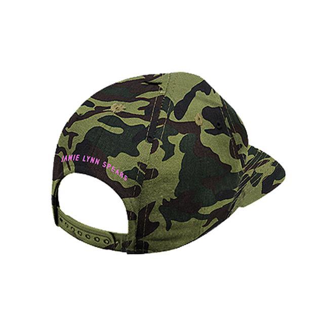 Jamie Lynn Spears Initials Camo Hat