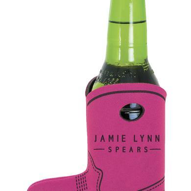 Jamie Lynn Spears Pink Boot Koozie