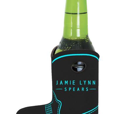 Jamie Lynn Spears Black Boot Koozie