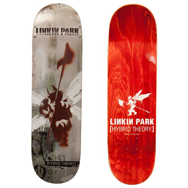 Linkin Park Red Hybrid Theory Skatedeck