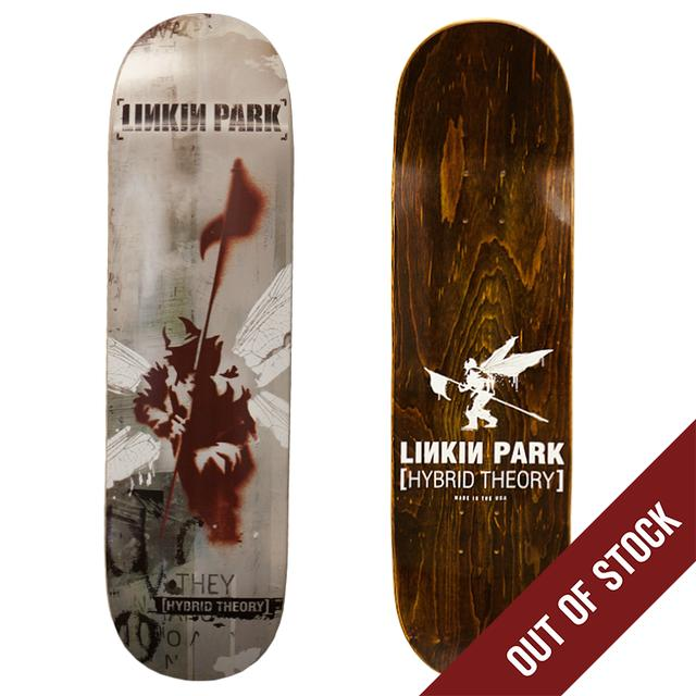 Linkin Park Brown Hybrid Theory Skatedeck