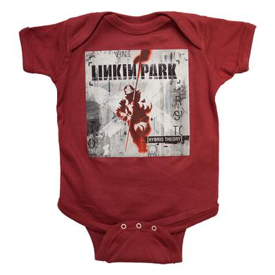 Linkin Park Dark Red HT Baby Bodysuit