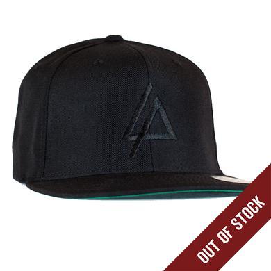 Linkin Park Black Embroidered Logo Hat
