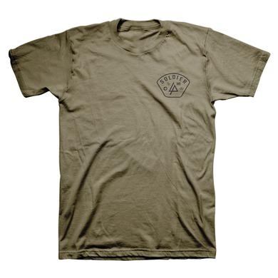 Linkin Park Patch Military Green Tee