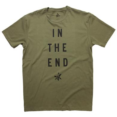 Linkin Park In The End Military Green Tee