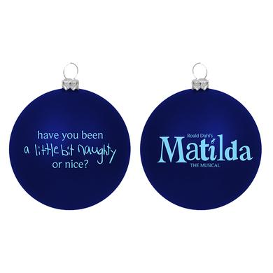 Matilda Naughty Ball Ornament