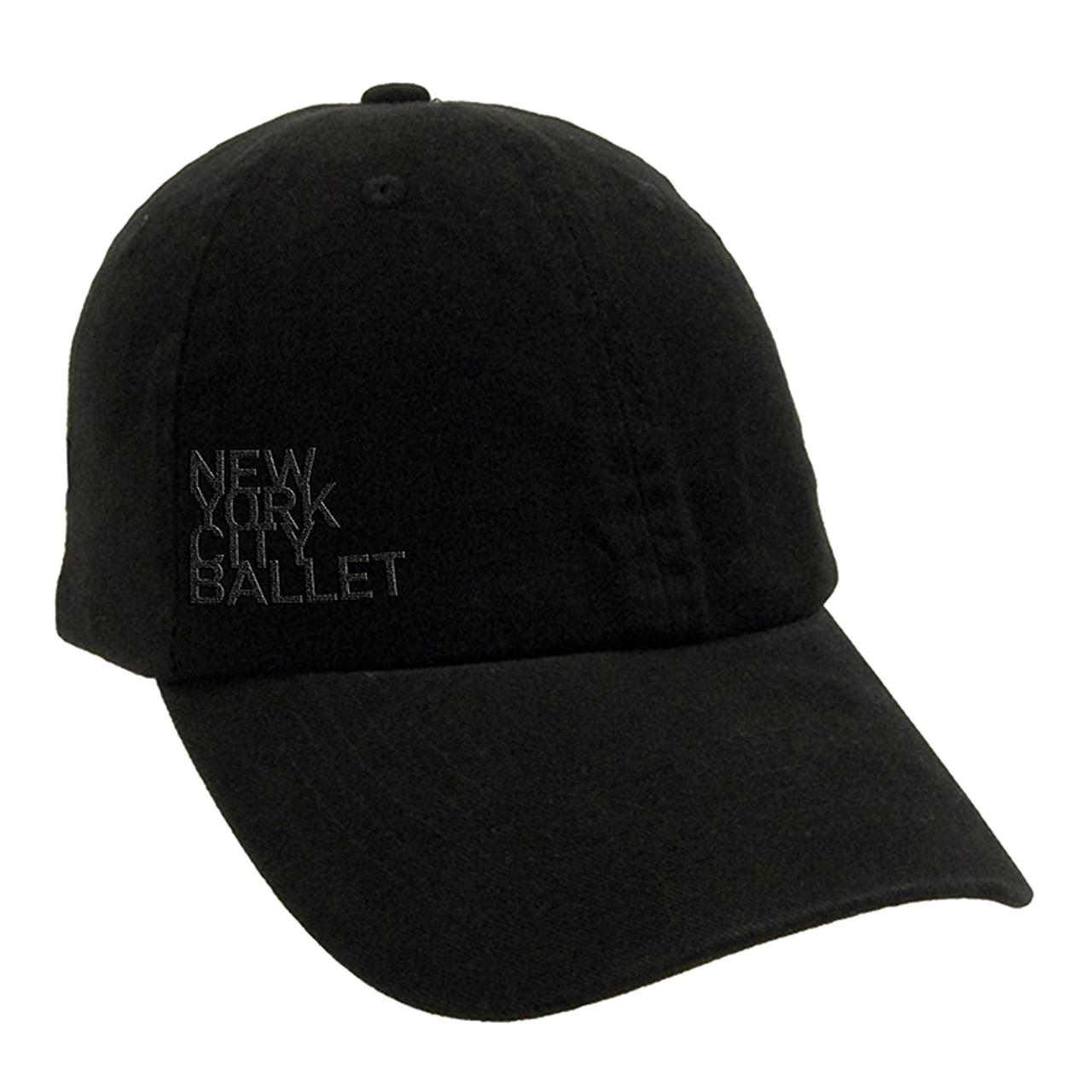 NYC Ballet Black Logo Baseball Cap 3bae7ce9cb5