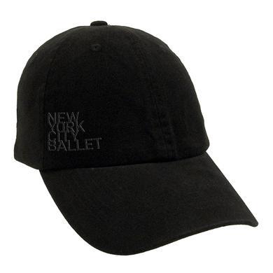 NYC Ballet Black Logo Baseball Cap