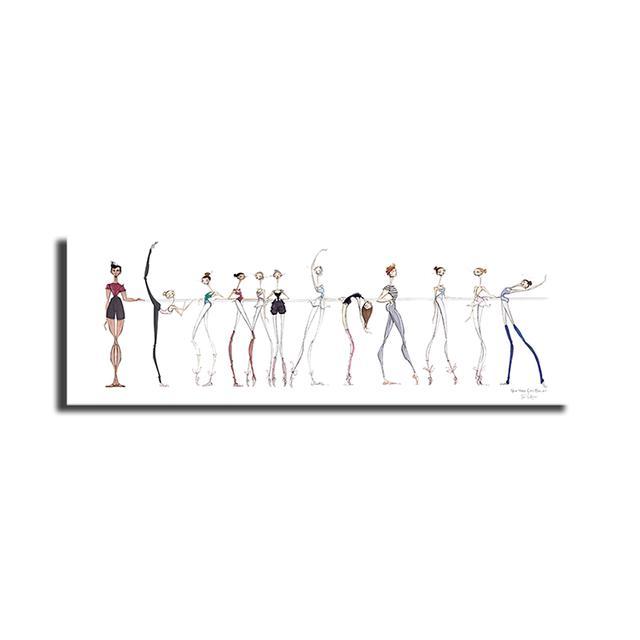 NYC Ballet JLR Poster