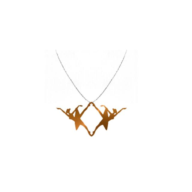 NYC Ballet Rose Gold Alexandra Necklace