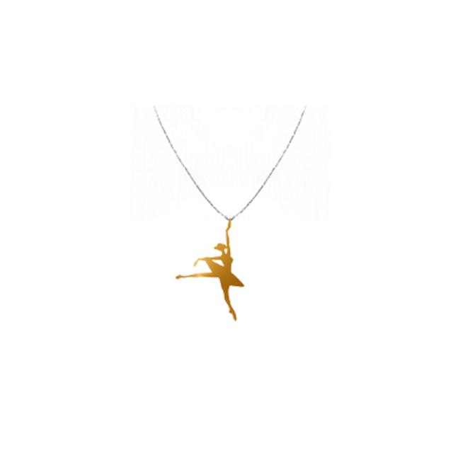 NYC Ballet Rose Gold Vera Releve Necklace